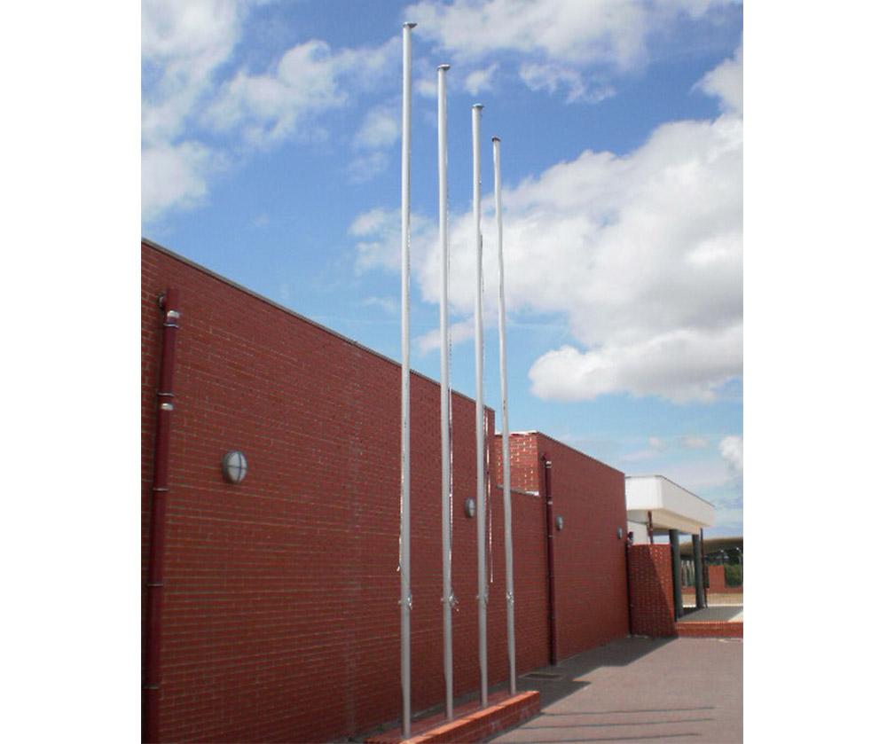 mastros de exterior fixo em alumínio