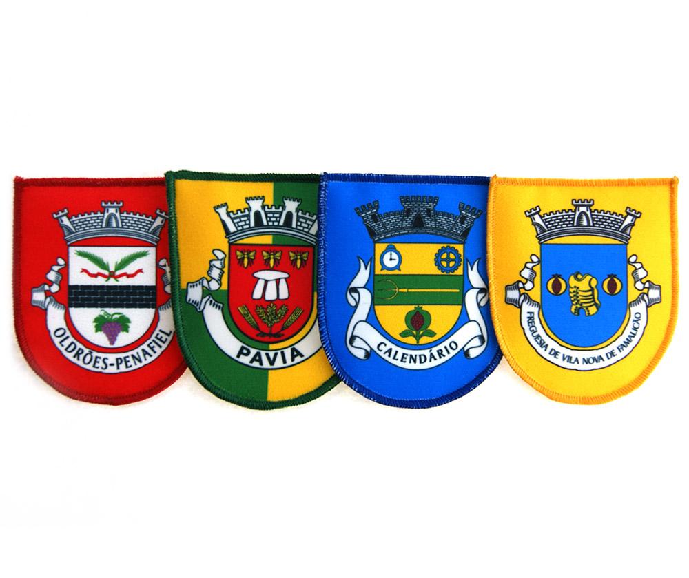 emblemas impressos de freguesias